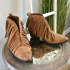 Coconuts by Matisse | Lambert Tan Fringe Booties